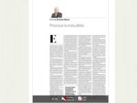 Priorizar lo Ineludible – Columna de Ernesto Ottone – Diario La Tercera.