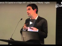 "Conferencia ""El Capital en el Siglo XXI"" con Thomas Piketty – Inglés"