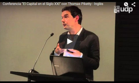 Conferencia «El Capital en el Siglo XXI» con Thomas Piketty – Inglés