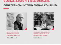 Cátedra Globalización y Democracia UDP celebra diez años de existencia con conferencia de Richard Sennet y Saskia Sassen